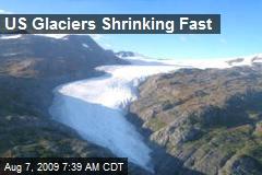 US Glaciers Shrinking Fast