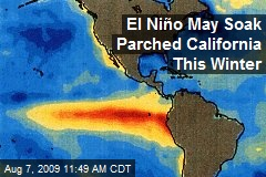 El Niño May Soak Parched California This Winter