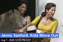 Jenny Sanford, Kids Move Out