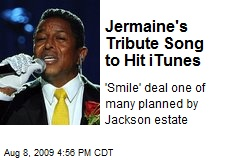 Jermaine's Tribute Song to Hit iTunes