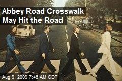 Abbey Road Crosswalk May Hit the Road