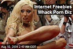 Internet Freebies Whack Porn Biz