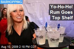 Yo-Ho-Ho! Rum Goes Top Shelf