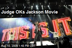 Judge OKs Jackson Movie