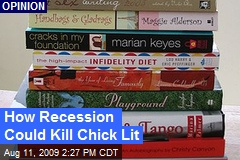 How Recession Could Kill Chick Lit