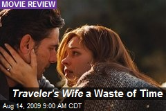Traveler's Wife a Waste of Time