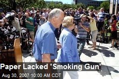 Paper Lacked 'Smoking Gun'