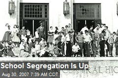 School Segregation Is Up