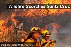 Wildfire Scorches Santa Cruz
