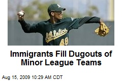 Immigrants Fill Dugouts of Minor League Teams