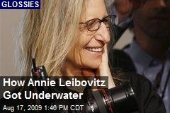 How Annie Leibovitz Got Underwater
