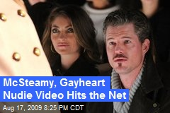 McSteamy, Gayheart Nudie Video Hits the Net