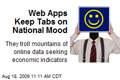 Web Apps Keep Tabs on National Mood