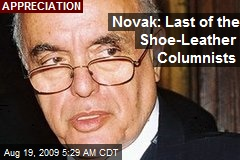Novak: Last of the Shoe-Leather Columnists