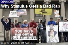 Why Stimulus Gets a Bad Rap