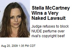 Stella McCartney Wins a Very Naked Lawsuit