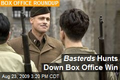 Basterds Hunts Down Box Office Win