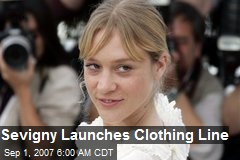 Sevigny Launches Clothing Line