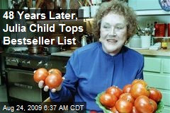 48 Years Later, Julia Child Tops Bestseller List