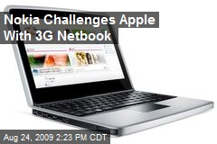 Nokia Challenges Apple With 3G Netbook