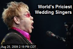 World's Priciest Wedding Singers