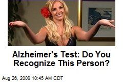 Alzheimer's Test: Do You Recognize This Person?