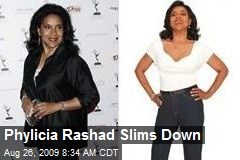 Phylicia Rashad Slims Down