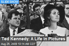 Ted Kennedy: A Life in Pictures