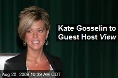 Kate Gosselin to Guest Host View