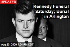 Kennedy Funeral Saturday; Burial in Arlington