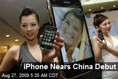 iPhone Nears China Debut