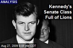 Kennedy's Senate Class Full of Lions