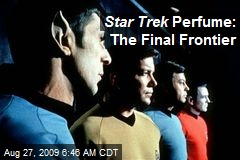 Star Trek Perfume: The Final Frontier