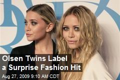 Olsen Twins Label a Surprise Fashion Hit