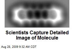 Scientists Capture Detailed Image of Molecule
