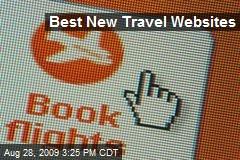 Best New Travel Websites