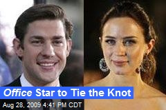 Office Star to Tie the Knot