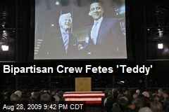 Bipartisan Crew Fetes 'Teddy'