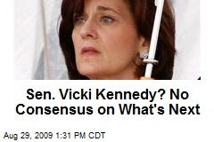 Sen. Vicki Kennedy? No Consensus on What's Next