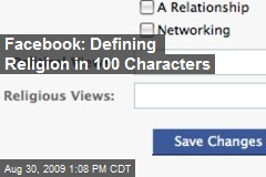 Facebook: Defining Religion in 100 Characters