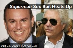 Superman Sex Suit Heats Up