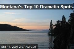Montana's Top 10 Dramatic Spots