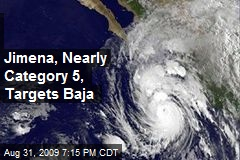 Jimena, Nearly Category 5, Targets Baja
