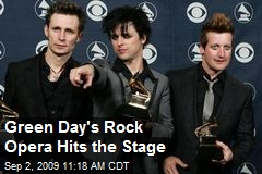 Green Day's Rock Opera Hits the Stage