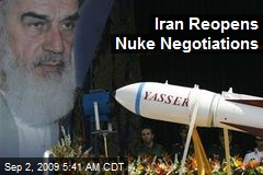 Iran Reopens Nuke Negotiations