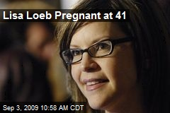 Lisa Loeb Pregnant at 41