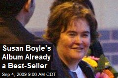Susan Boyle's Album Already a Best-Seller