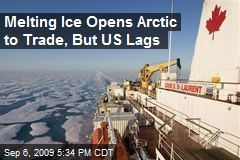 Melting Ice Opens Arctic to Trade, But US Lags