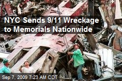 NYC Sends 9/11 Wreckage to Memorials Nationwide