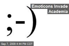 Emoticons Invade Academia